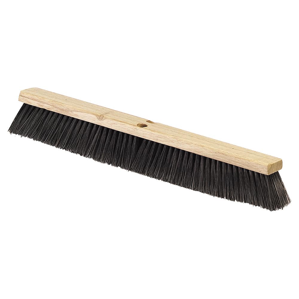"Carlisle 4507203 18"" Push Broom Head w/ Polypropylene Bristles, Black"