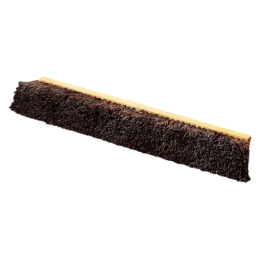 "Carlisle 4522200 24"" Push Broom Head w/ Palmyra Bristles, Natural"