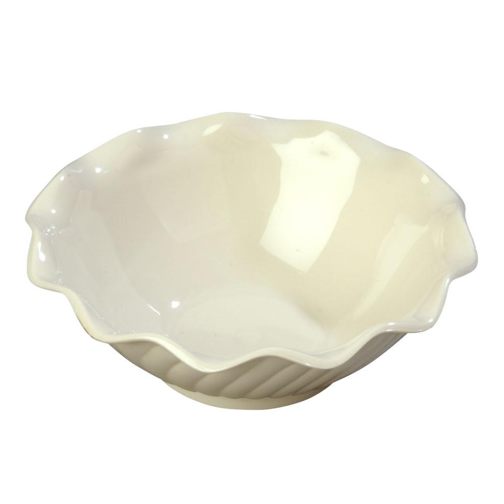 Carlisle 453142 Tulip Berry Dish, 5 oz., Bone, SAN, NSF