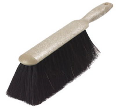 Carlisle 4539203 8-in Counter/Bench Brush w/ Horsehair & Polypropylene Bristles