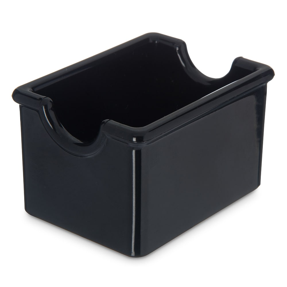 Carlisle 455003 Sugar Caddy w/ (20) Packet Capacity, Plastic, Black