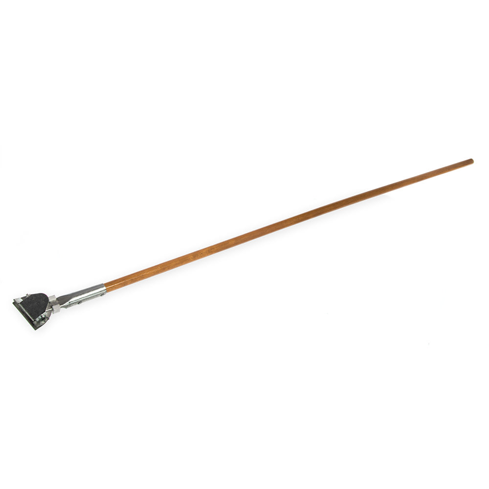 """Carlisle 4585000 60""""L Dust Mop Handle for Wire Frames, Wood"""