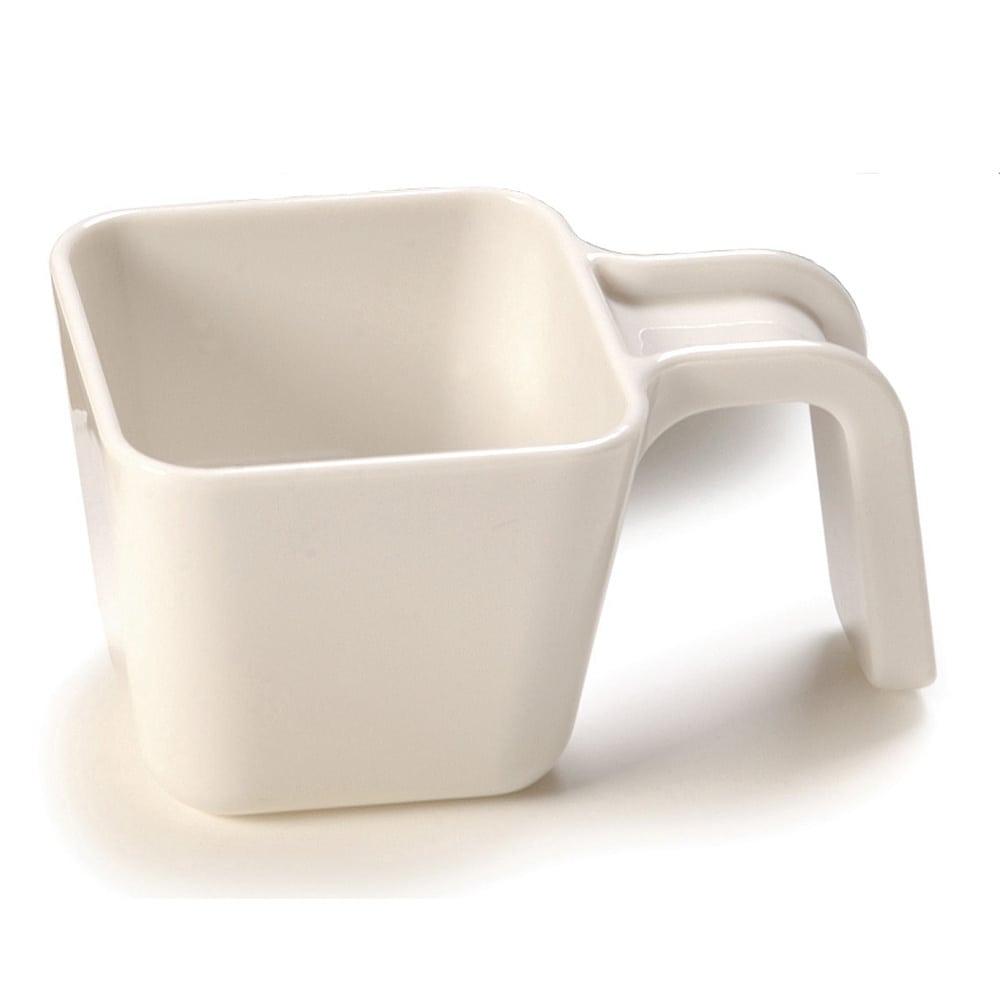 Carlisle 49110-102 9.5 oz Portion Cup w/ Flat Sides, Polycarbonate, White