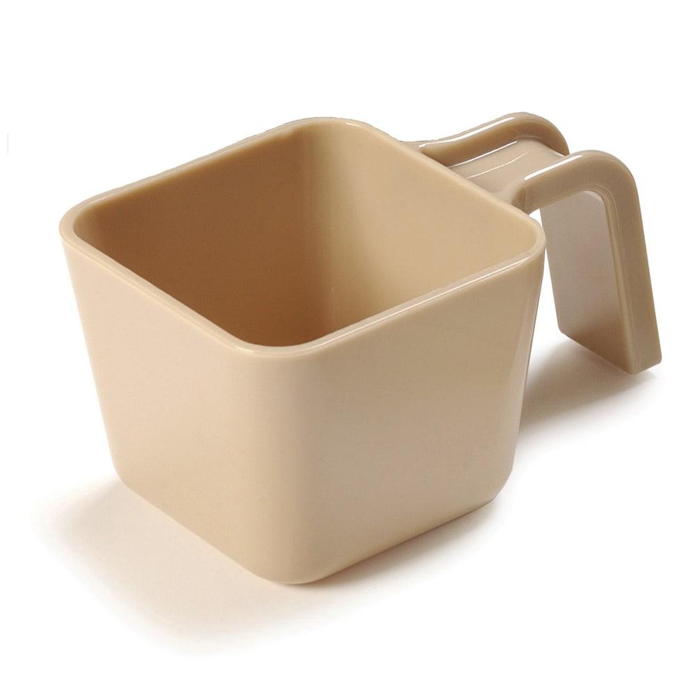 Carlisle 49112-106 12-oz Portion Cup w/ Flat Sides, Polycarbonate, Beige