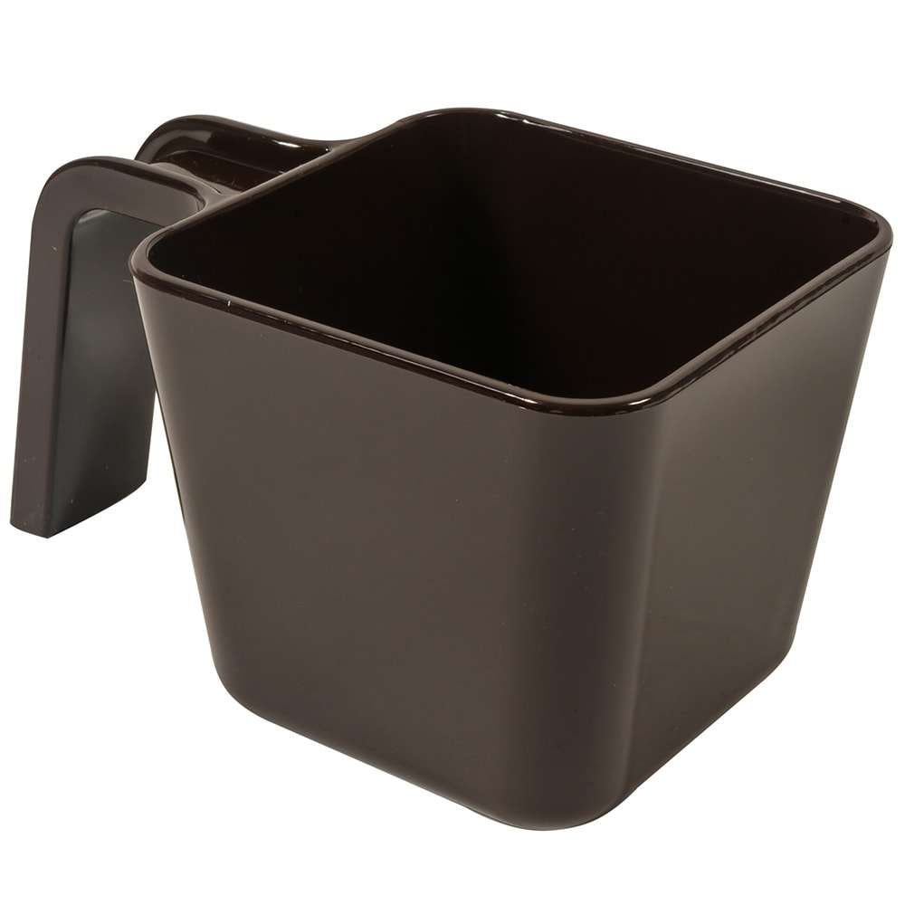 Carlisle 49116-101 16 oz Portion Cup w/ Flat Sides, Polycarbonate, Brown