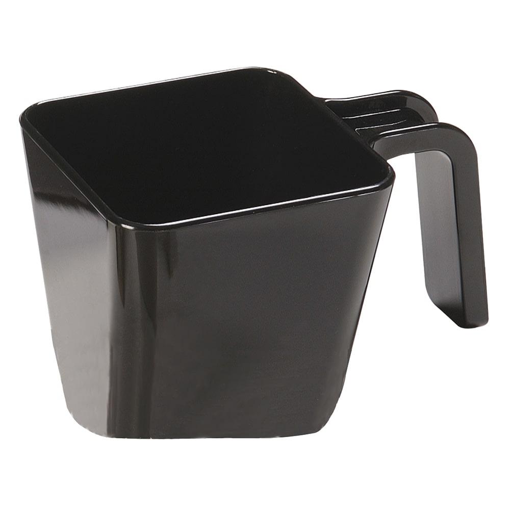 Carlisle 49122-103 20 oz Portion Cup w/ Flat Sides, Polycarbonate, Black