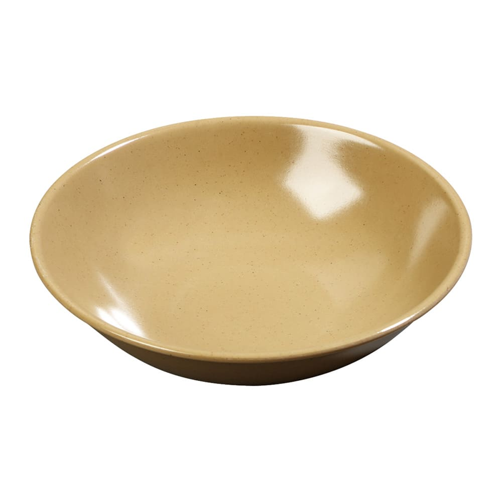 "Carlisle 500M20 5.5"" Round Coupe Salad Bowl w/ 8-oz Capacity, Melamine, Maple"