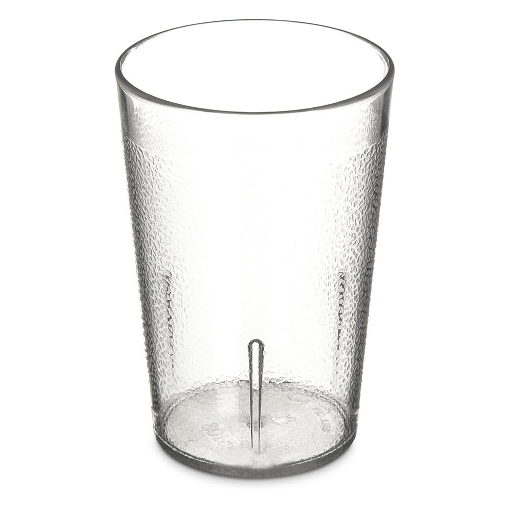 Carlisle 5108-207 8-oz Stackable Tumbler - Polycarbonate, Clear