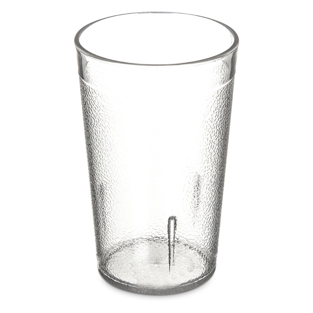 Carlisle 5109-207 9.5 oz Stackable Tumbler - Polycarbonate, Clear