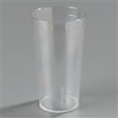 Carlisle 5112-207 12-1/2-oz Stackable Tumbler - Polycarbonate, Clear