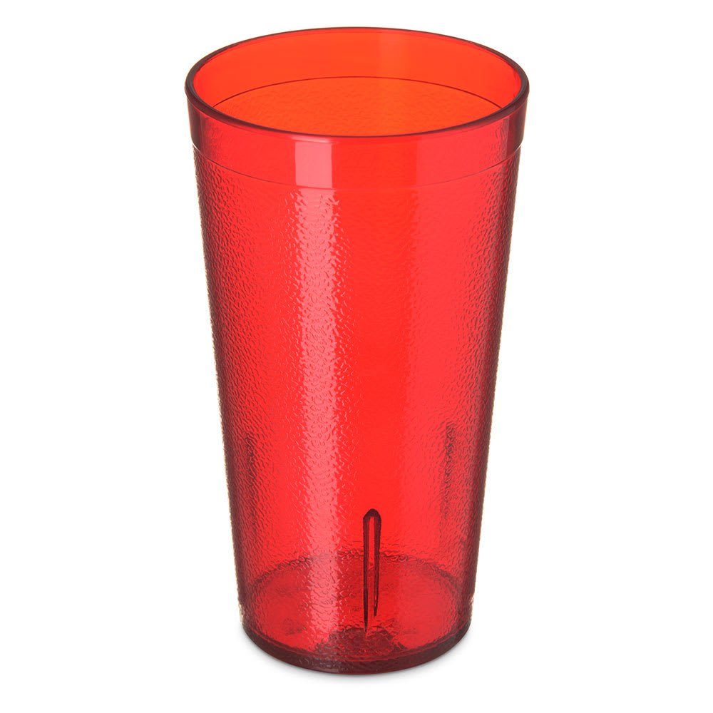Carlisle 5116-210 16.5-oz Stackable Tumbler - Polycarbonate, Ruby