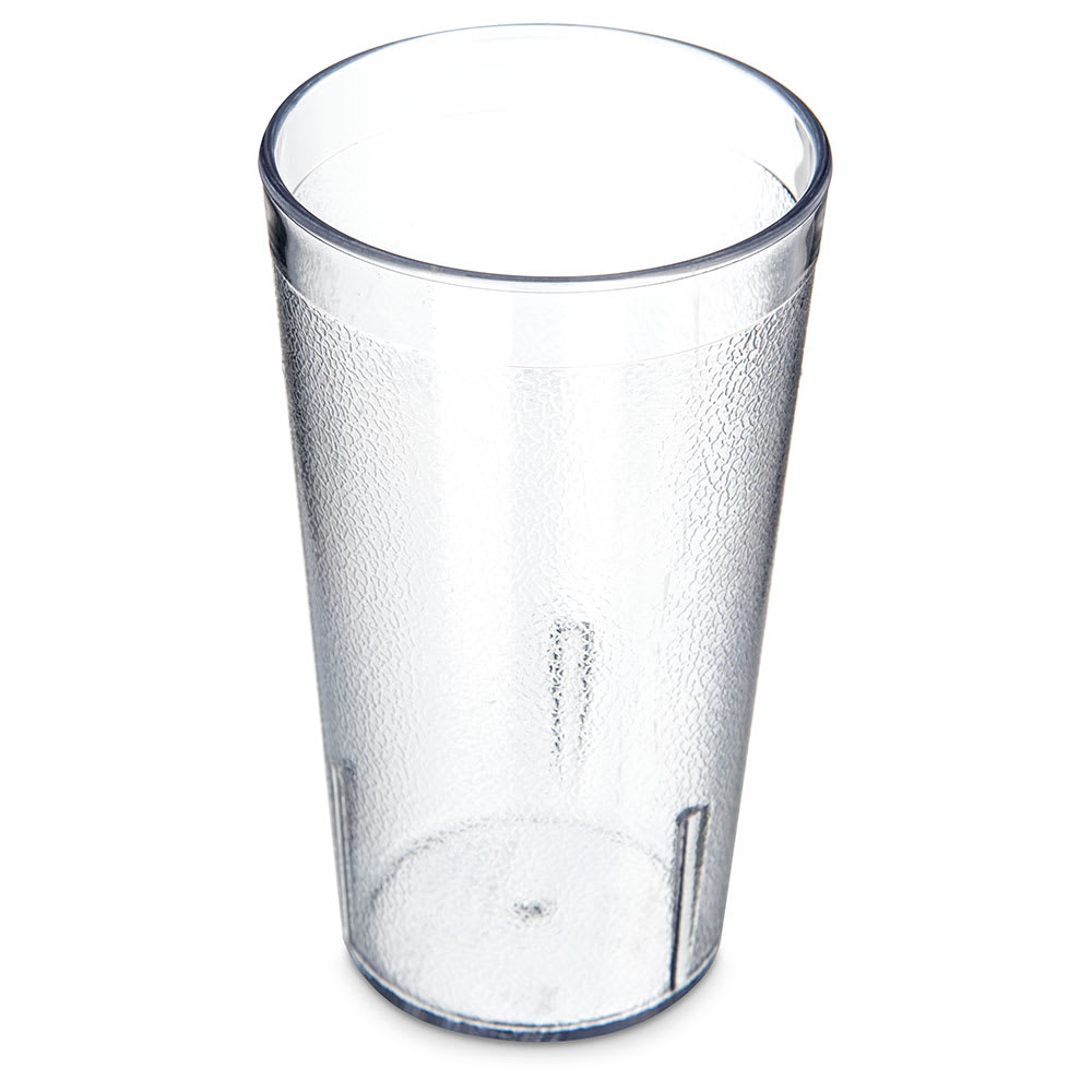 Carlisle 5212-207 12-oz Stackable Tumbler, Clear