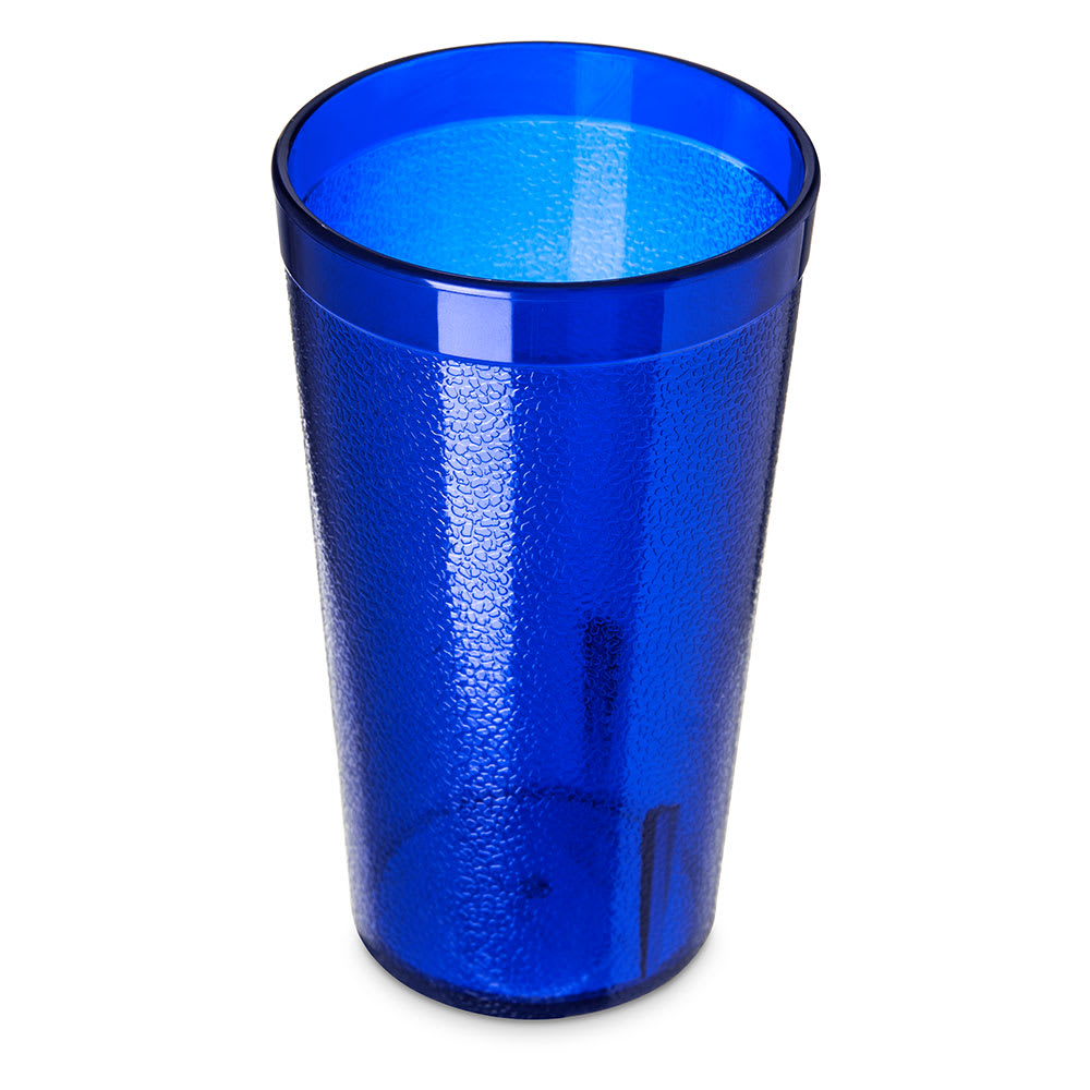 Carlisle 521247 12 oz Stackable Tumbler - Polycarbonate, Royal Blue