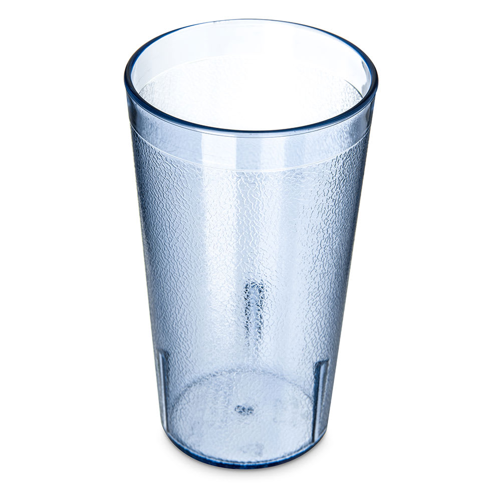 Carlisle 521254 12 oz Stackable Tumbler - Polycarbonate, Blue
