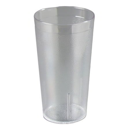 Carlisle 5216-807 16-oz Stackable Tumbler - Plastic, Clear