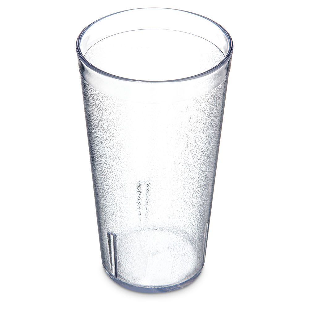 Carlisle 521607 16-oz Stackable Tumbler - Plastic, Crystal