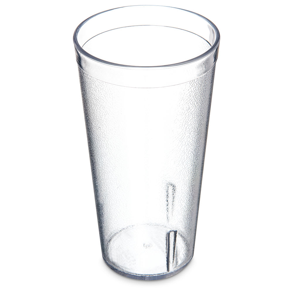 Carlisle 5220-207 20-oz Stackable Tumbler - Plastic, Clear