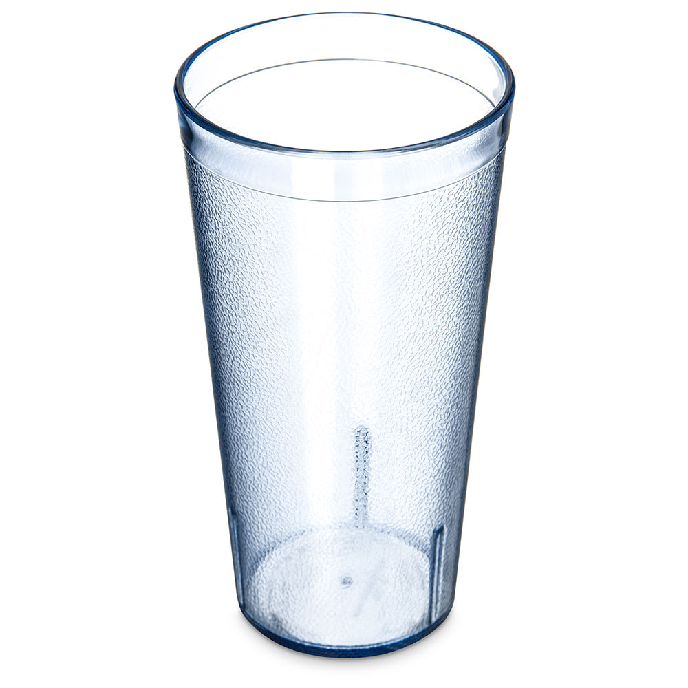 Carlisle 522054 20 oz Stackable Tumbler - Plastic, Blue