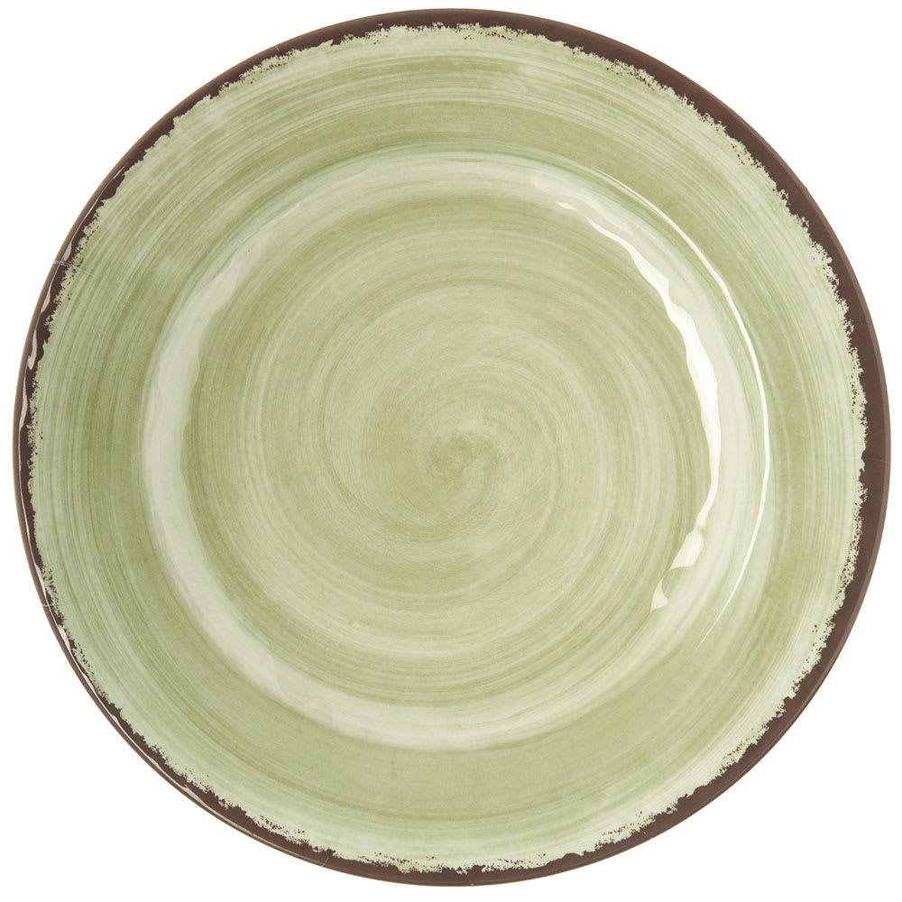"Carlisle 5400146 11"" Round Dinner Plate - Melamine, Jade"