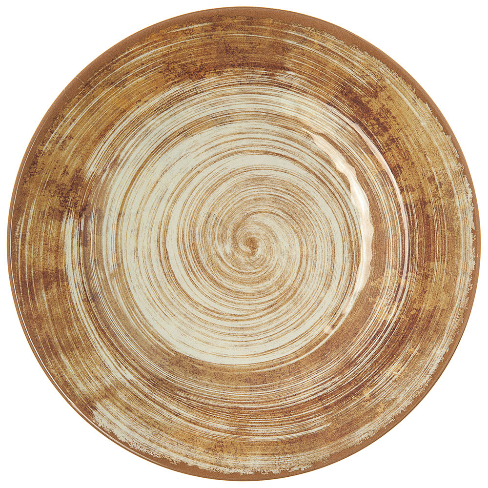 """Carlisle 5400217 9"""" Round Dinner Plate - Melamine, Copper"""