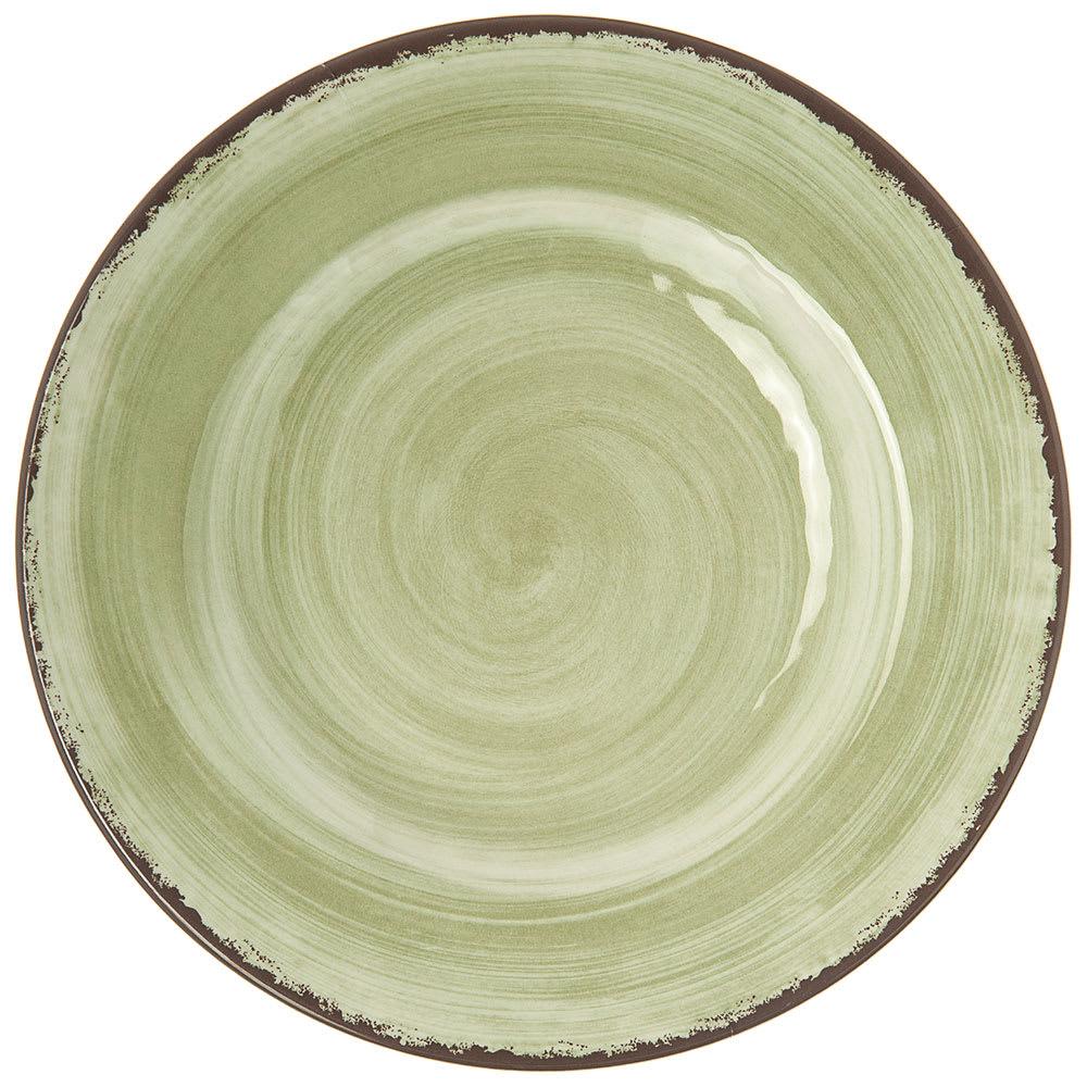 "Carlisle 5400246 9"" Round Dinner Plate - Melamine, Jade"