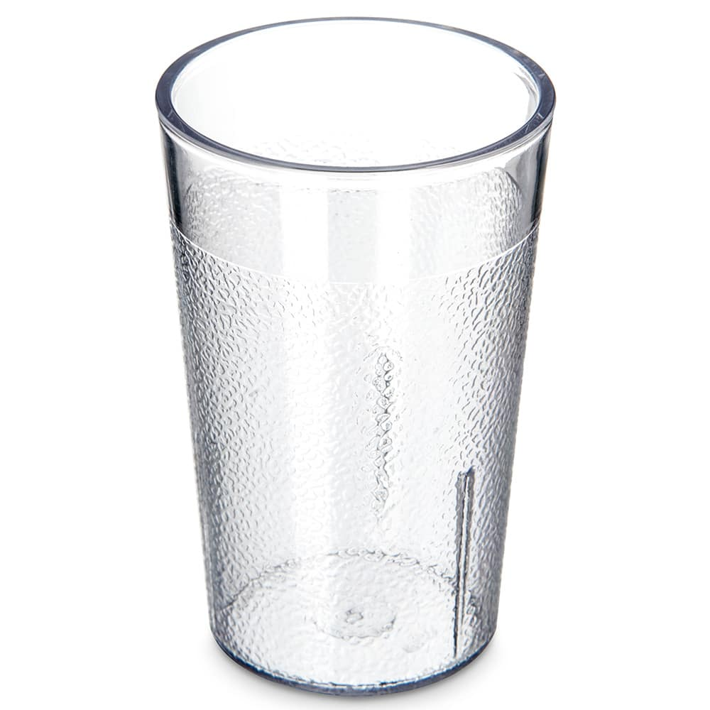 Carlisle 5501-207 5 oz Stackable Tumbler - Plastic, Clear