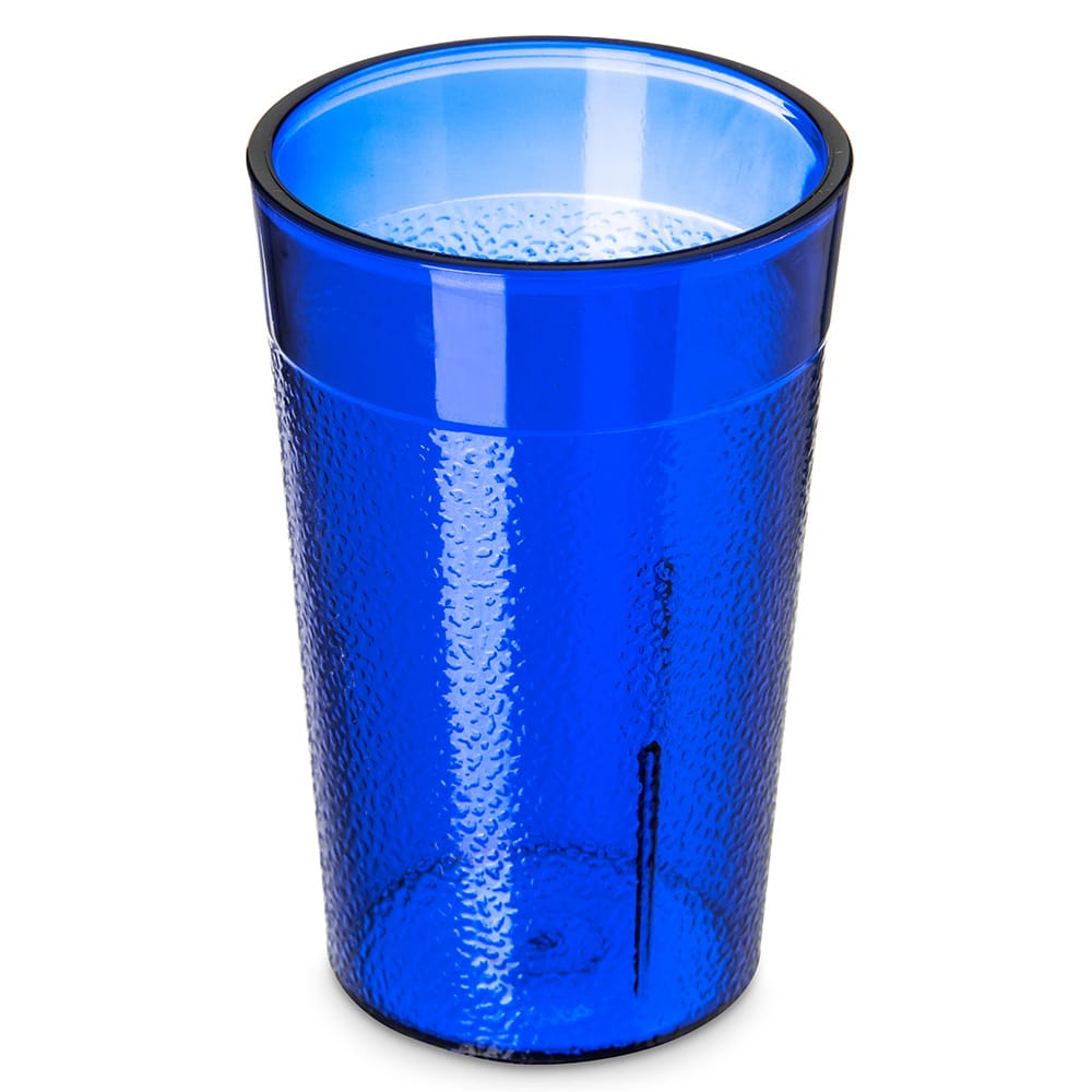 Carlisle 550147 5-oz Stackable Tumbler - Plastic, Royal Blue