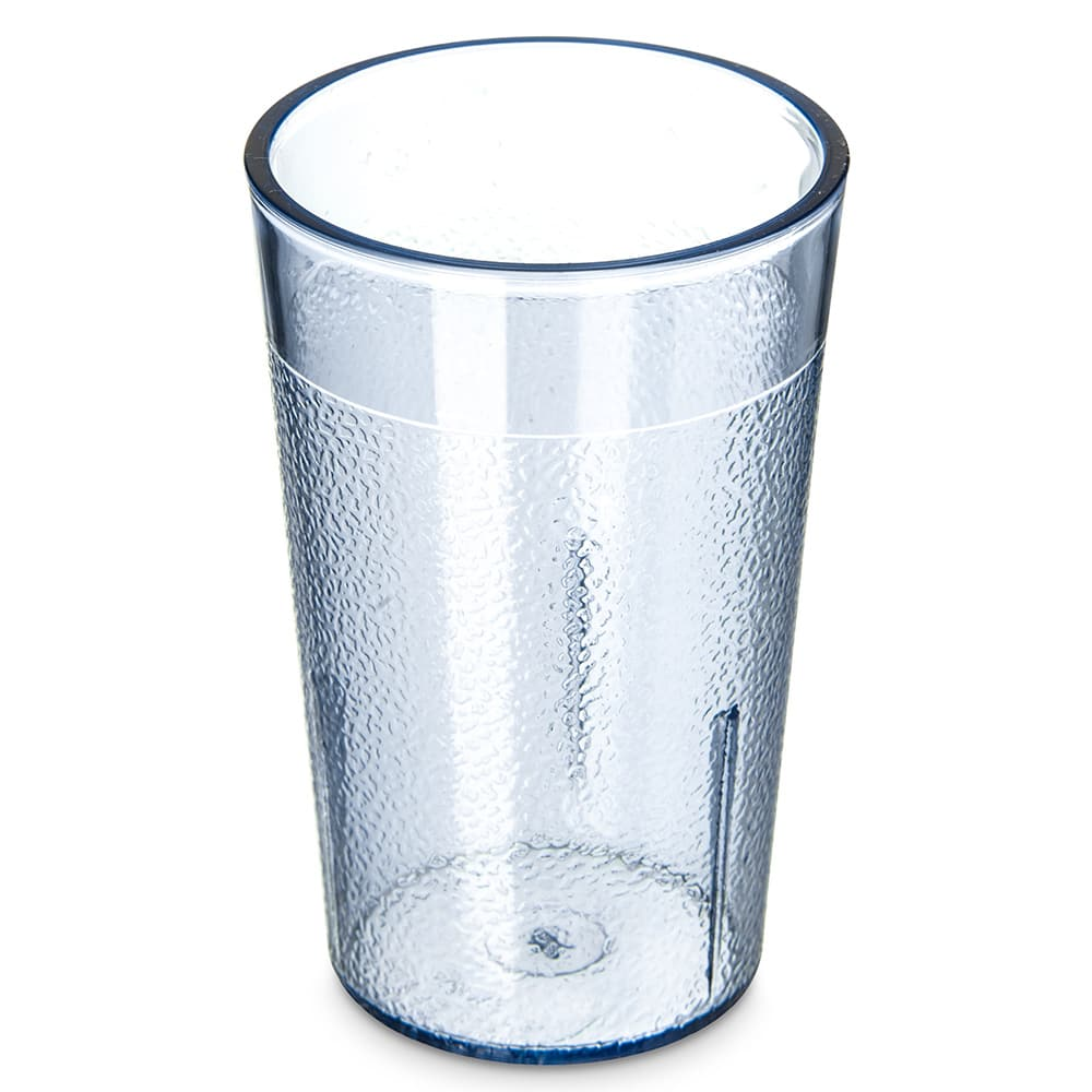 Carlisle 550154 5 oz Stackable Tumbler - Plastic, Blue