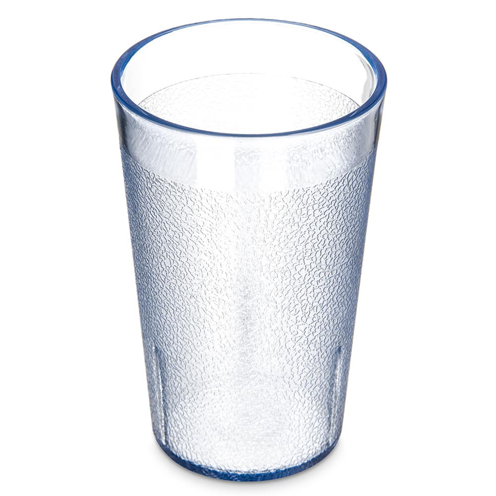 Carlisle 550654 9.5-oz Stackable Tumbler - Polycarbonate, Blue