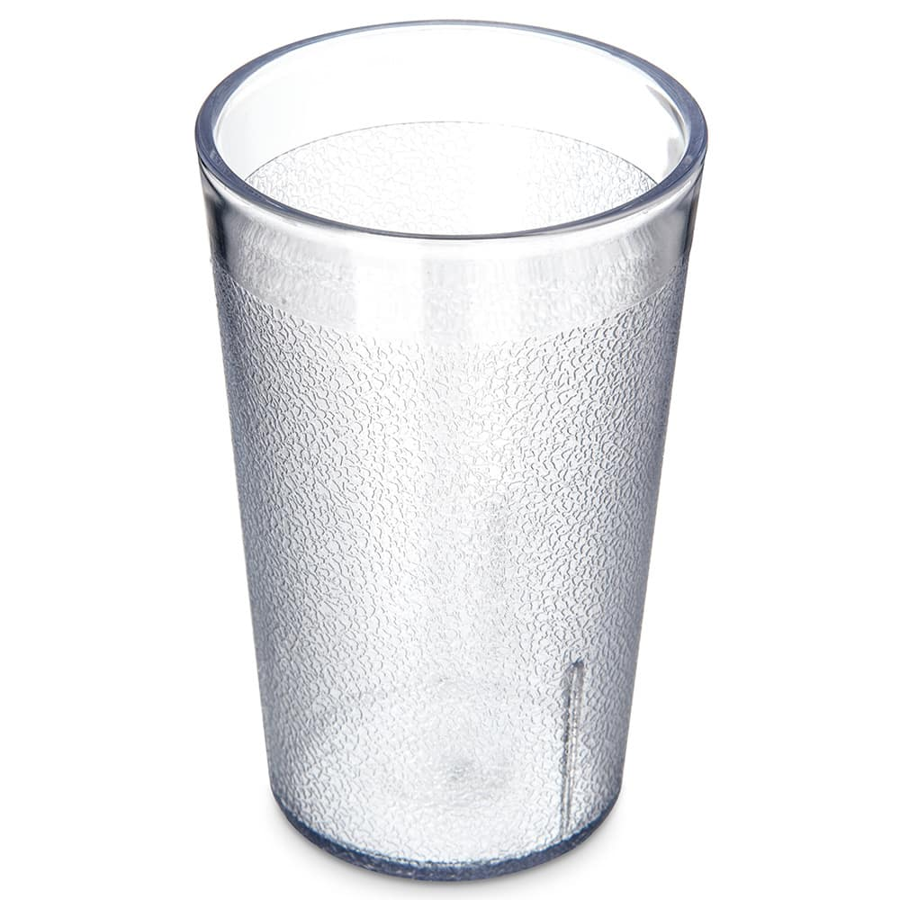 Carlisle 550607 Stackable Tumbler, 9.5 oz., SAN, Clear