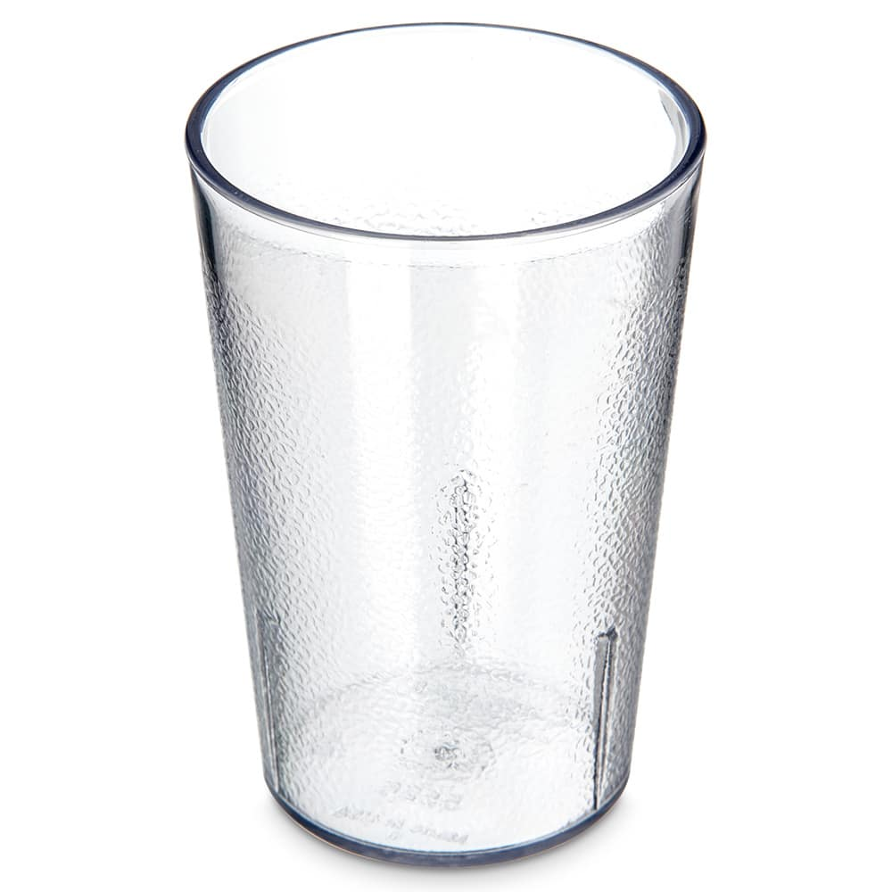 Carlisle 5526-207 8-oz Stackable Tumbler - Plastic, Clear