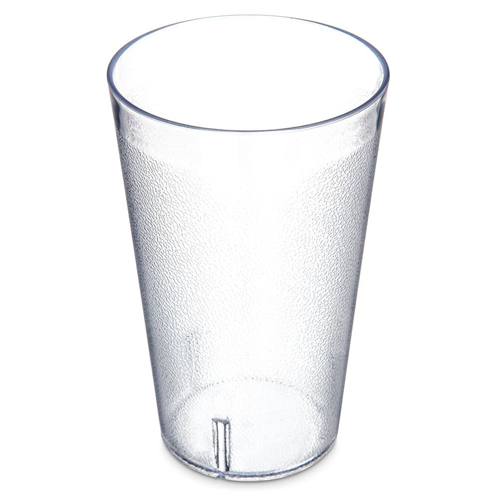 Carlisle 5532-207 32 oz Stackable Tumbler - Plastic, Clear