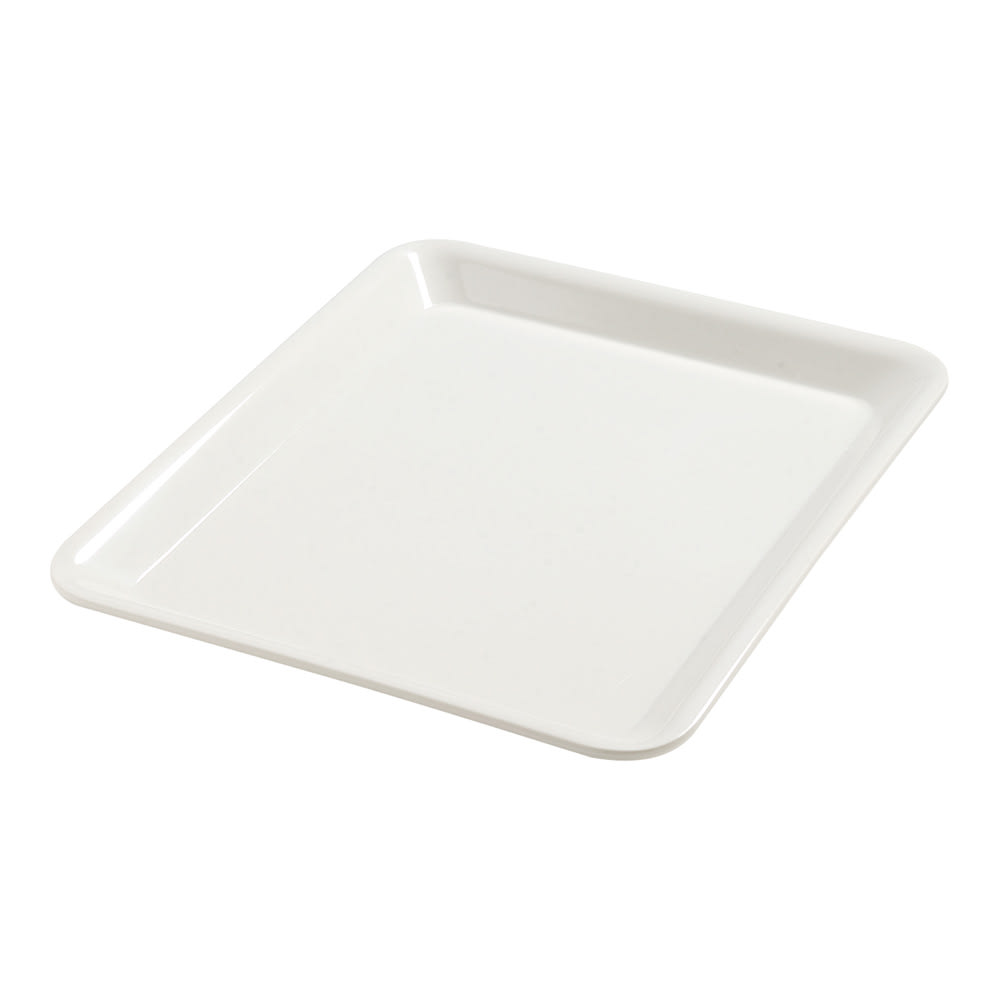 "Carlisle 5553237 Half Size Display Pan - 1""D, Melamine, Bavarian Cream"
