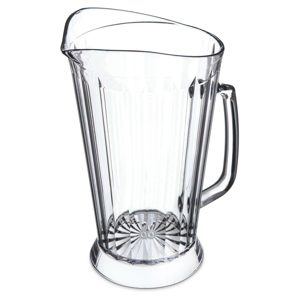Carlisle 558307 48-oz Pitcher - Polycarbonate, Clear