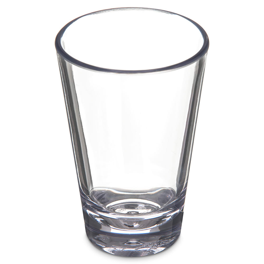 Carlisle 560307 3 oz Alibi Shooter/Mini Dessert Glass - SAN Plastic, Clear