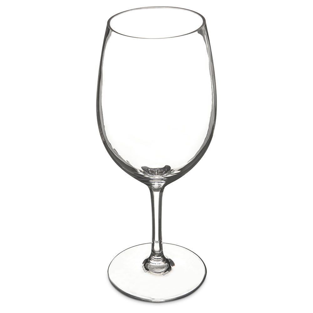 Carlisle 5642-407 20 oz Red Wine Glass, Polycarbonate, Clear