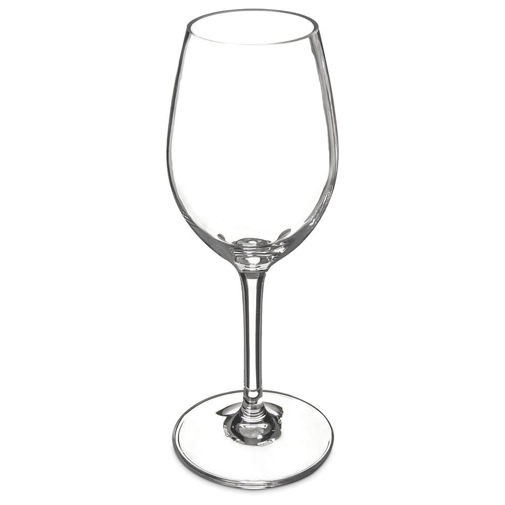 Carlisle 5643-07 11 oz Alibi White Wine Glass - Polycarbonate, Clear
