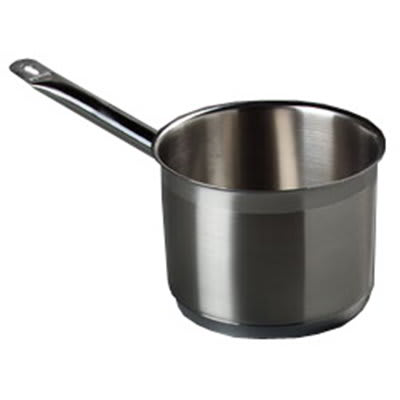 Carlisle 601025 2.5-qt Saucepan - Induction Compatible, 18/10 Stainless
