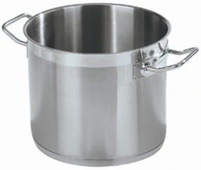 Carlisle 601112 12-qt Stock Pot - Induction Compatible, 18/10 Stainless
