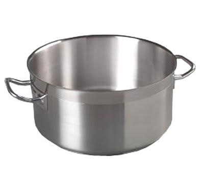 Carlisle 601119 18-qt Saucepan - Induction Compatible, 18/10 Stainless
