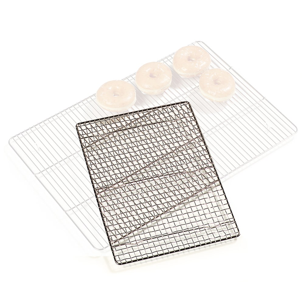 """Carlisle 601647 Icing Grate for Full Size Sheet Pan, 24"""" x 16"""", Chome Plated"""