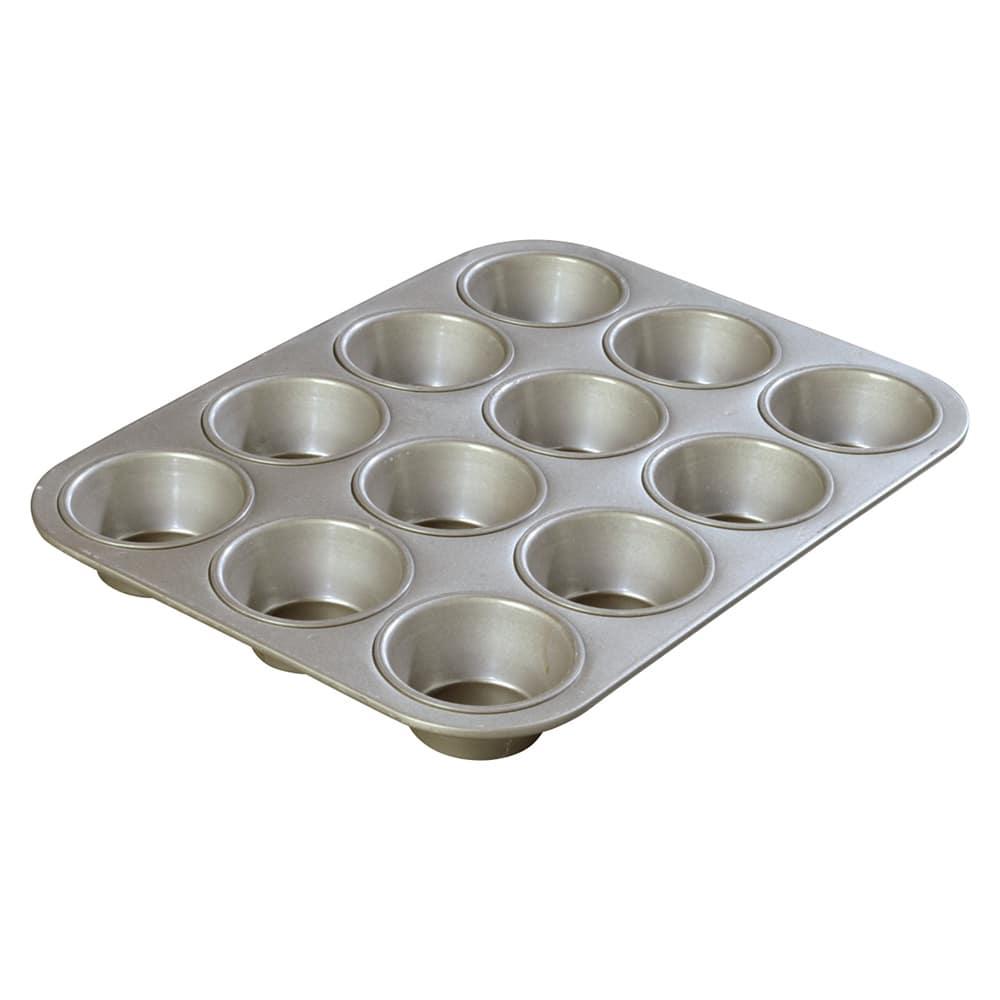 Carlisle 601830 Cupcake Pan w/ (12) 3.5-oz Cup Capacity, Aluminized Steel