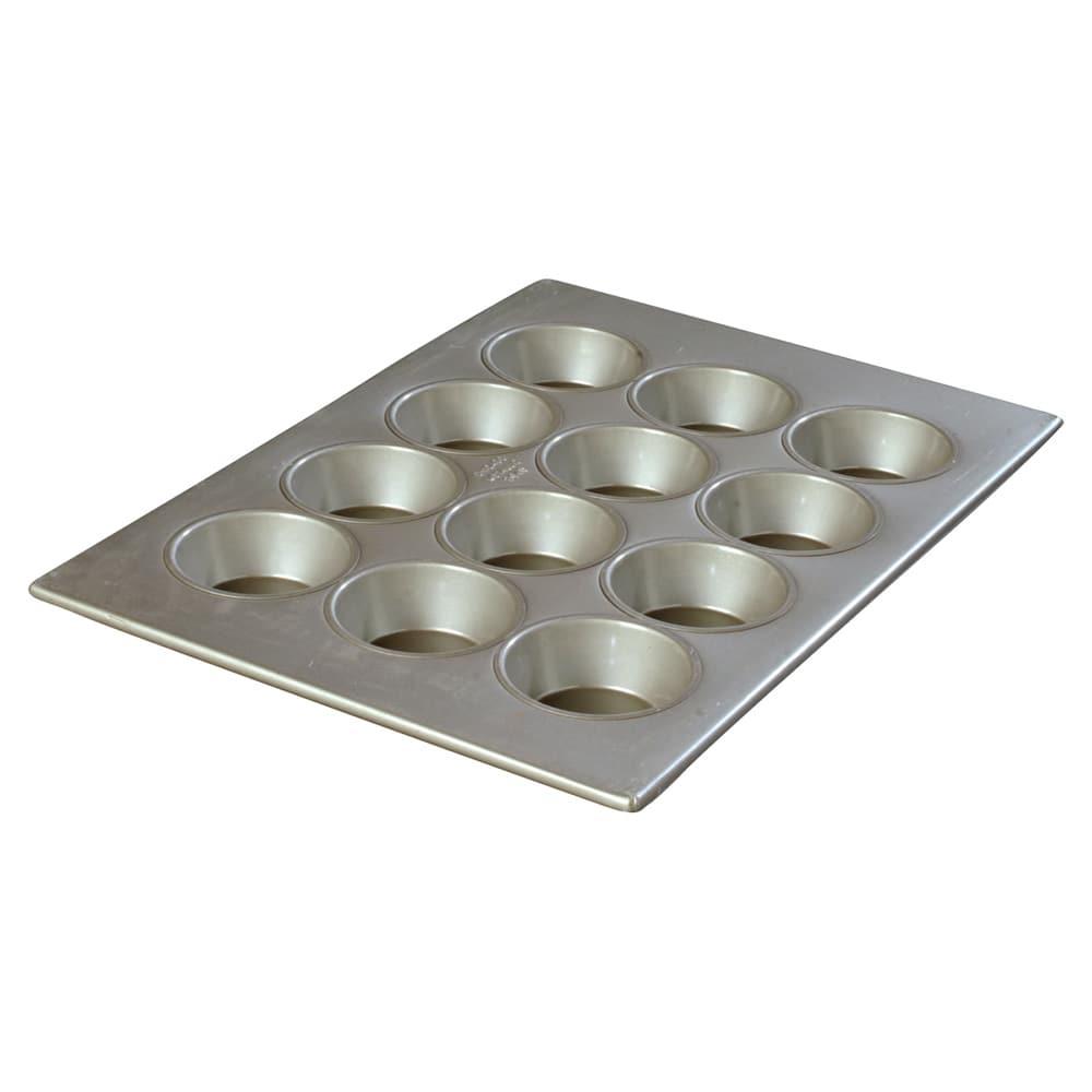 Carlisle 601834 Cupcake Pan w/ (12) 4-oz Cup Capacity, Aluminized Steel