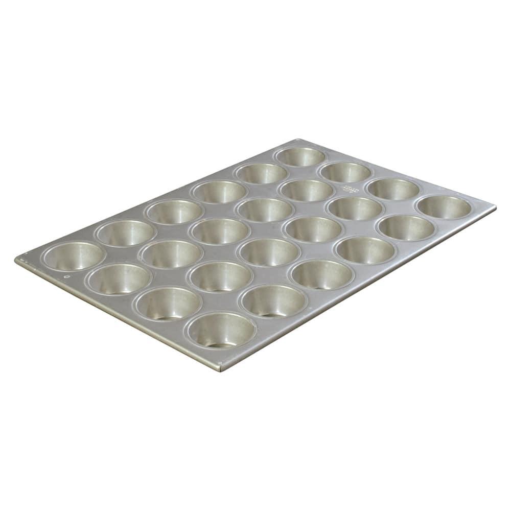 Carlisle 601840 Cupcake Pan w/ (24) 3.5-oz Cup Capacity, Aluminized Steel