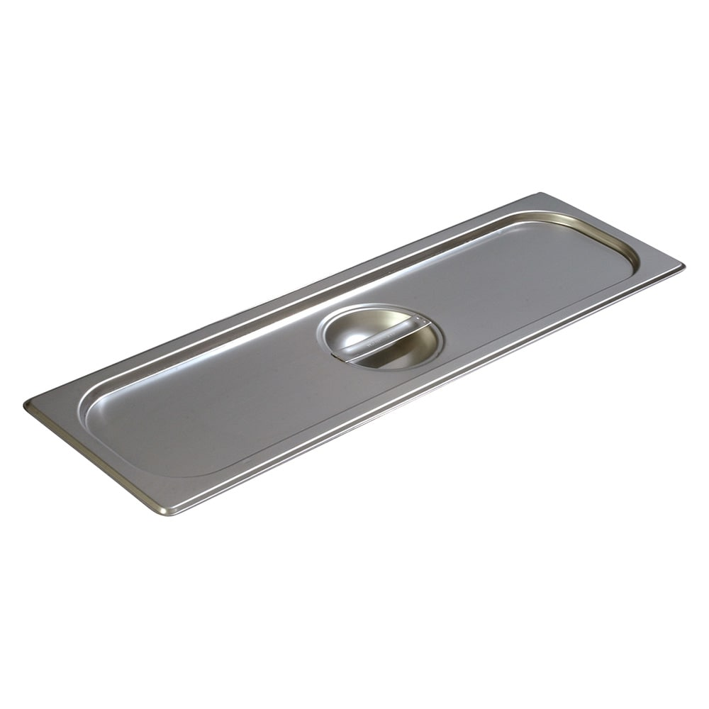 Carlisle 60700HLC Half-Sized Long Steam Pan Cover, Stainless