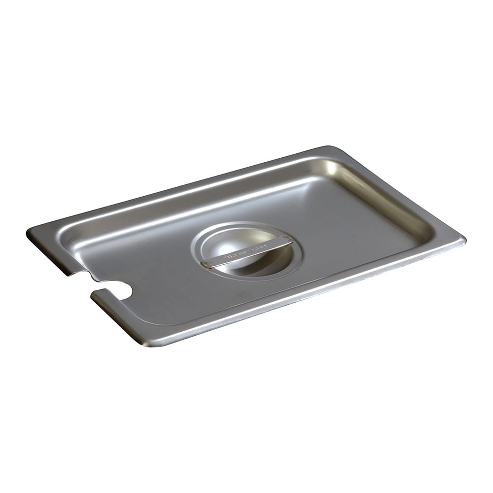 Carlisle 607140CS Fourth-Size Steam Pan Cover, Stainless