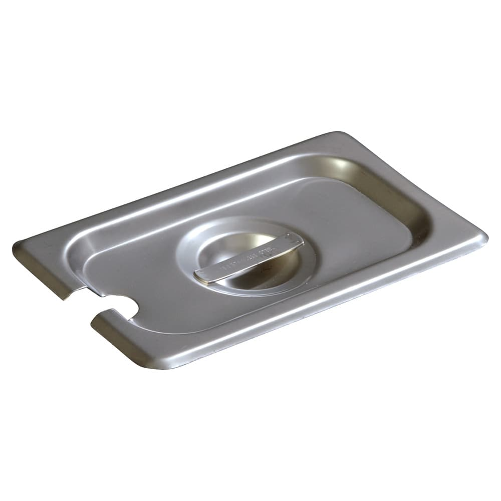 Carlisle 607190CS Ninth-Size Steam Pan Cover, Slotted, Stainless
