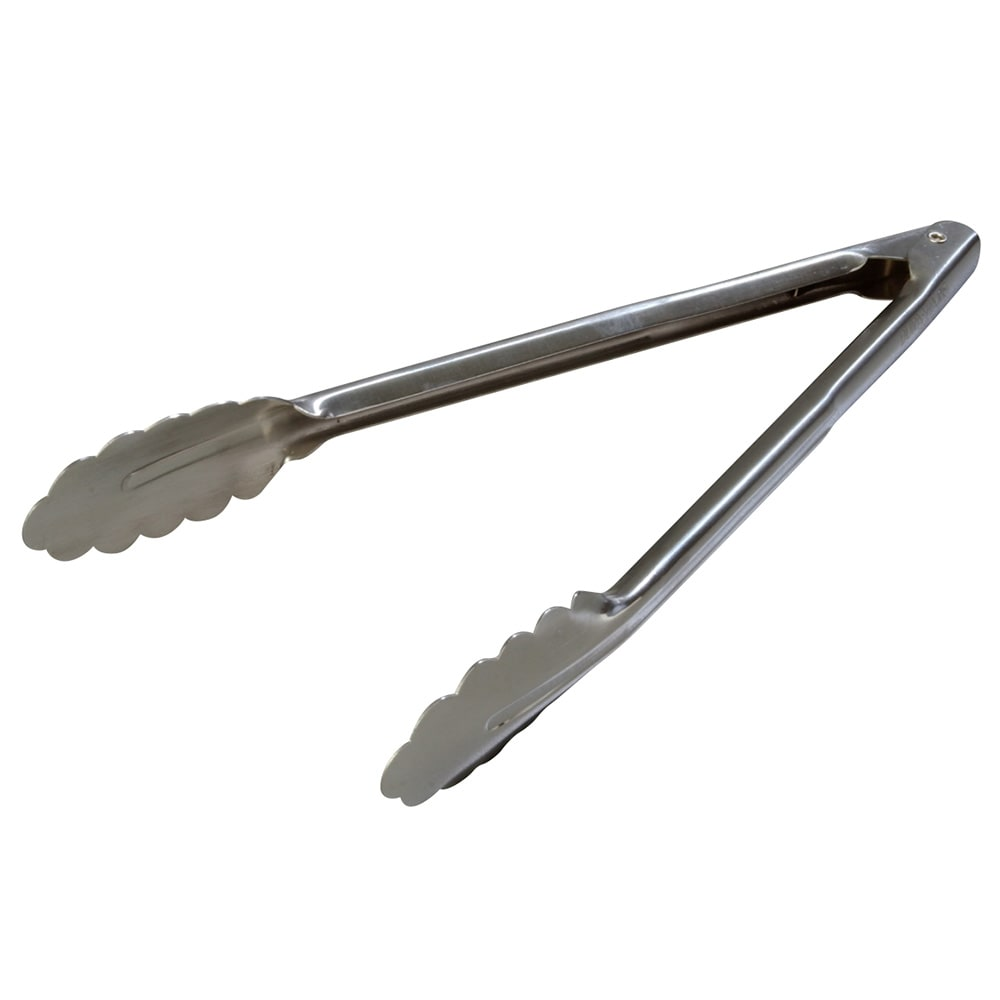 "Carlisle 607552 12"" Stainless Utility Tongs"