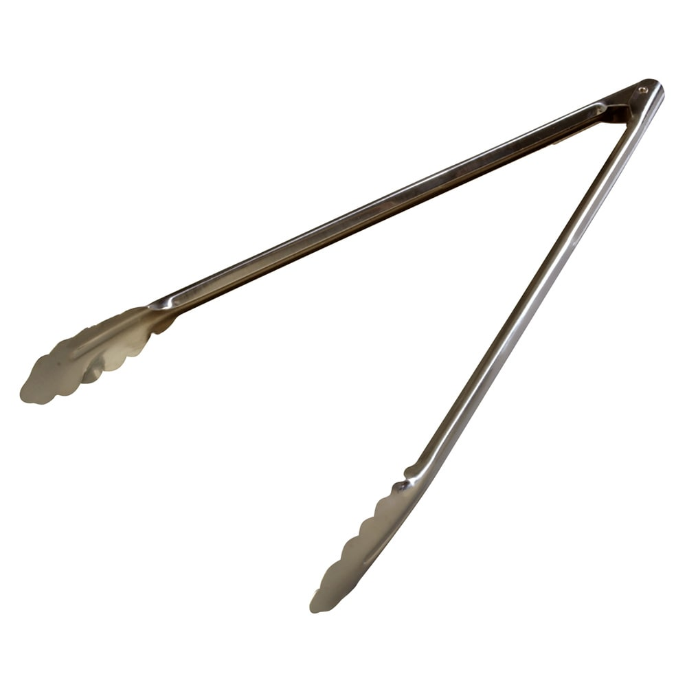 "Carlisle 607556 16"" Stainless Utility Tongs"