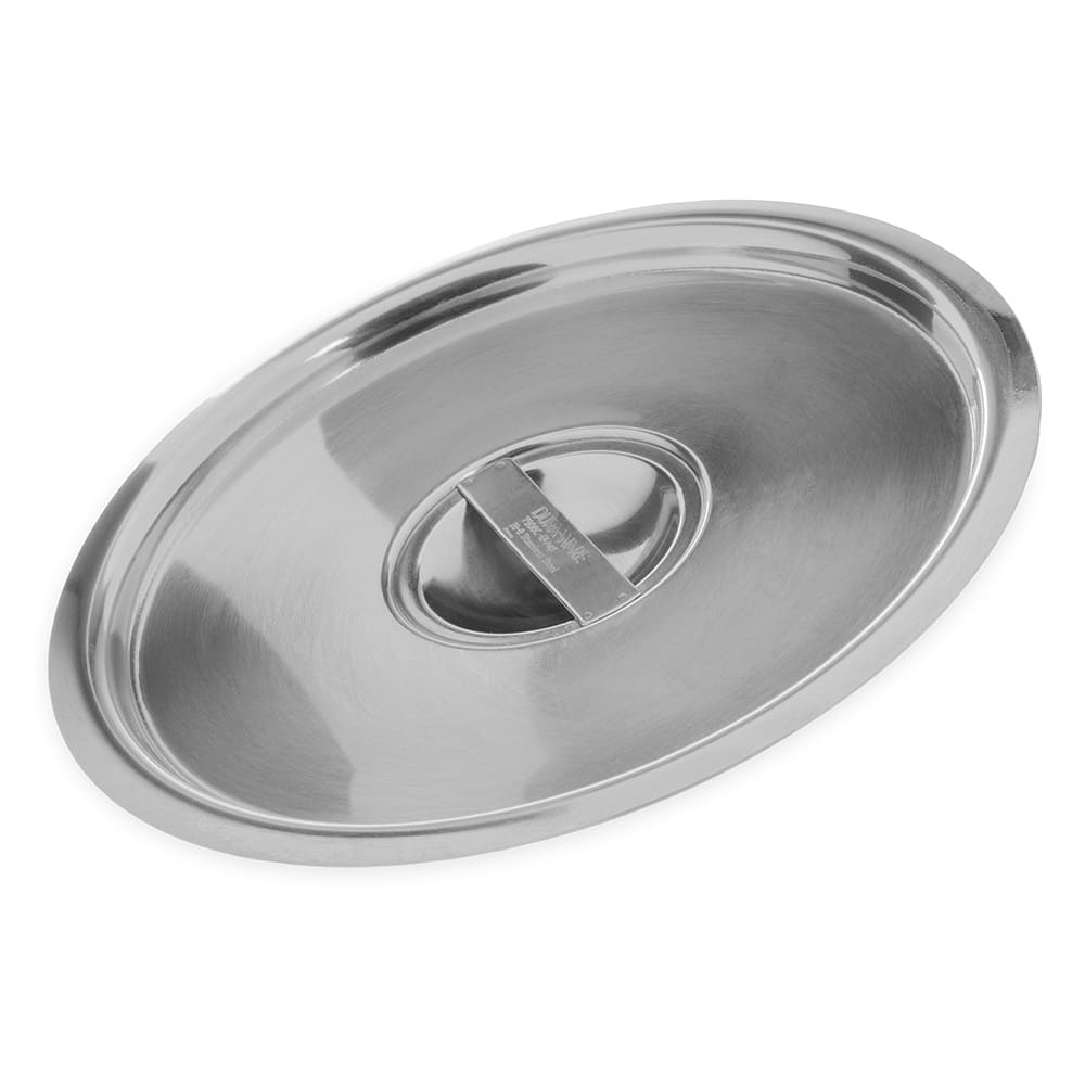 "Carlisle 607908C 8"" Round Bain Marie Pot Cover - Stainless"